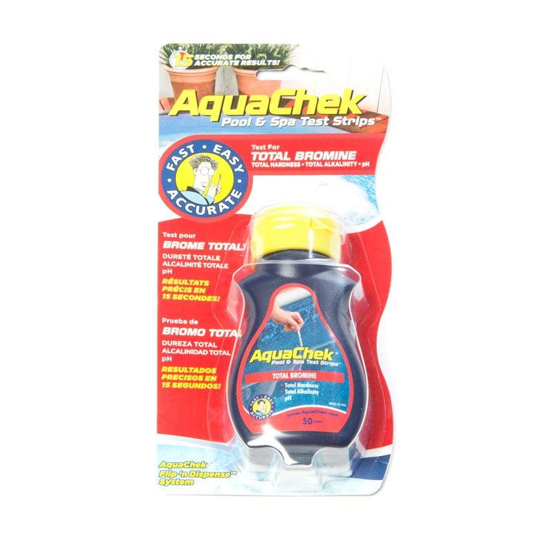 Aquacheck bromine test strips