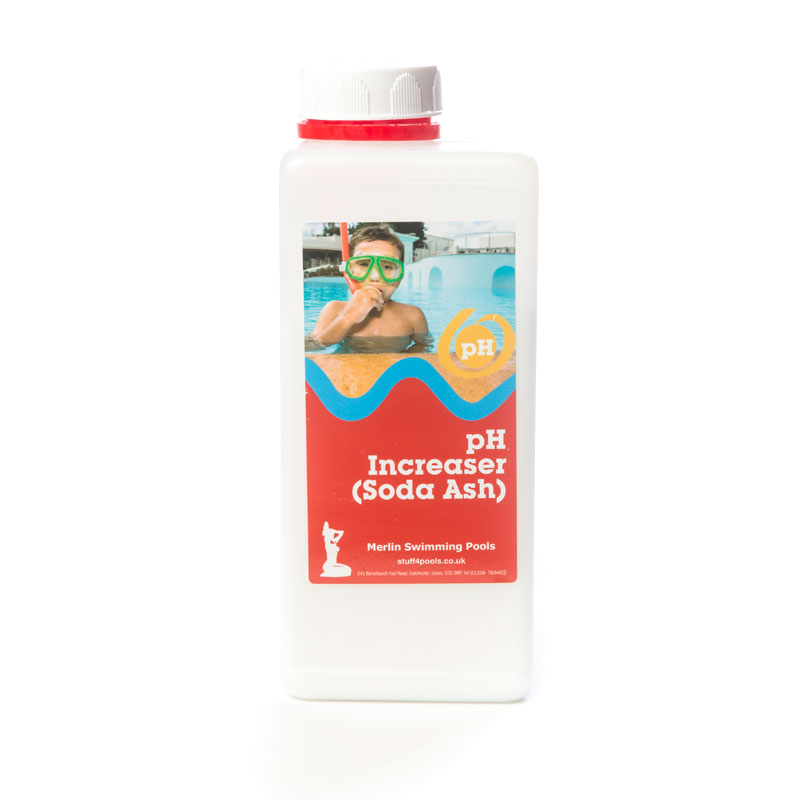 Ph increaser soda ash 1kg stuff 4 pools for How to add soda ash to swimming pool