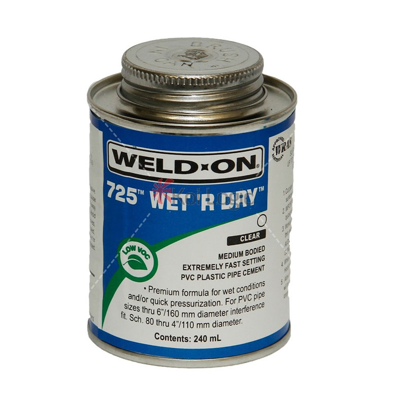Weld on 725 wet 39 r dry pipe work glue stuff 4 pools for Bestway pool for koi